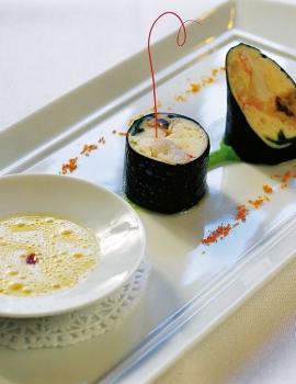 Lauwarmer Sushi